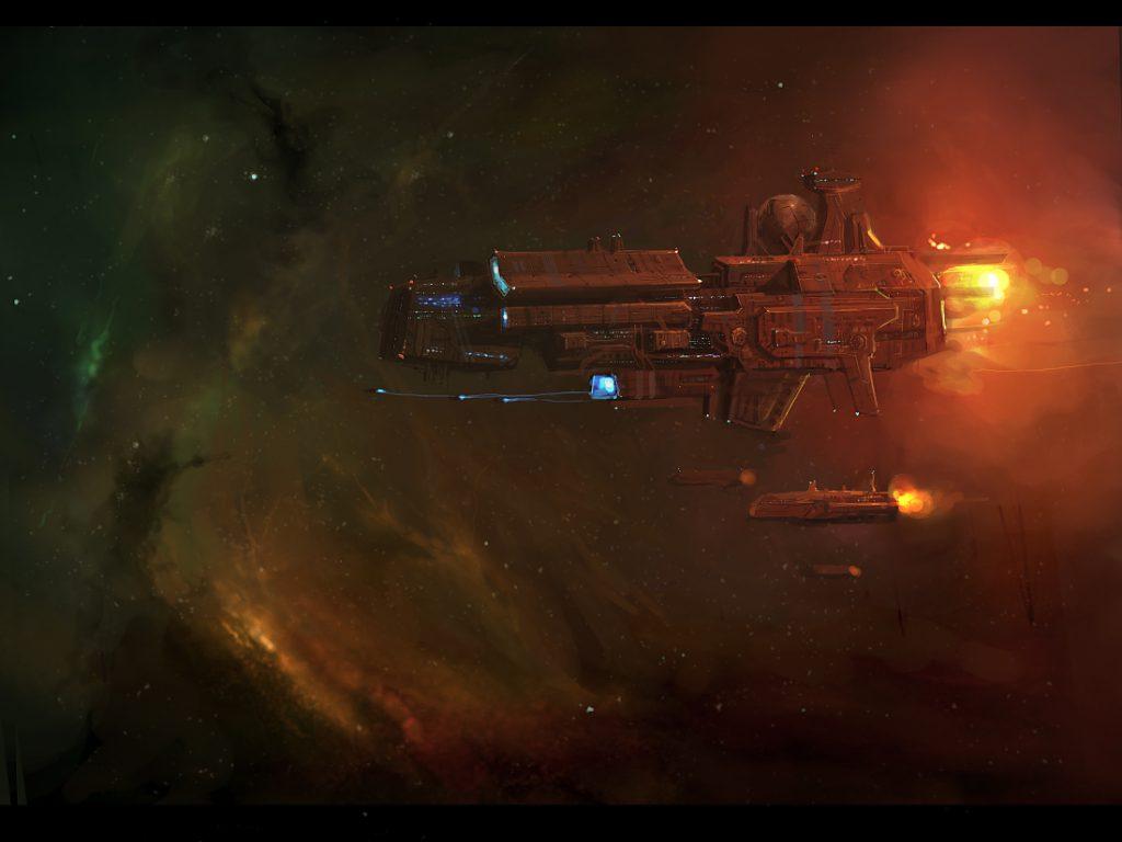 La última bitácora - Partida de Rol para La Llamada de Cthulhu espacial - Naves espaciales en entorno de Ciencia ficción